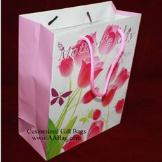 Gift Bag with Mother's Day's design. www.AABag.com