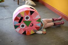 Kids craft costume from Let's Make Art