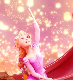 Probably my favorite scene of them all! ♥ #tangled #rapunzel #beautiful