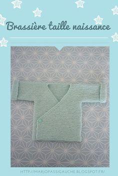 marjo pas si gauche !: Tuto brassière taille naissance à tricoter : idéal...