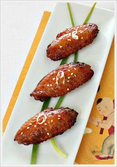 Nam Yee Baked Chicken Wings
