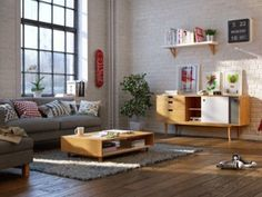 Variety of Scandinavian Living Room Designs Looks Perfect With Luxury Decor Ideas In It – RooHome Design Salon, Loft Design, Deco Design, House Design, Scandinavian Interior Living Room, Living Room Interior, Living Room Decor, Scandinavian Style, Living Room Styles