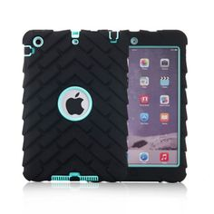 Stripes-Hybrid-Shockproof-Heavy-Duty-Rubber-Case-Cover-For-Apple-iPad-Mini-1-2-3