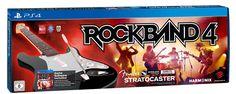 ¡Chollo! Rock Band 4   Guitarra Wireless Fender Stratocaster para PS4 por sólo 79,95 euros.