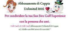 speciale san valentino golf