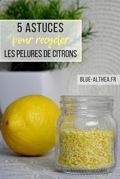 Ici on parle recyclage avec 5 astuces sur comment réutiliser nos pelures de citrons, pas besoin de jeter : tout se recycle !