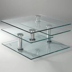 $669 Maddox Cocktail Table in Chrome