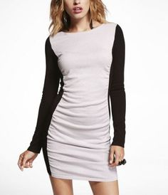 This is a great party dress for a night out in the city. #ExpressHoliday