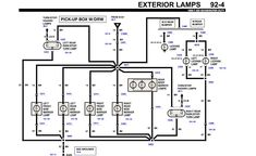 Under-hood fuse box diagram: Ford Expedition (2000, 2001