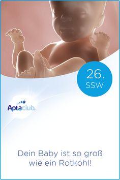 SSW 26: Das Gehör deines Babys entwickelt sich stetig weiter. Nun reagiert es schon aktiv auf deine Stimme. Aktiv, Babys, Memes, Movie Posters, Pregnancy Weeks, Babies, Film Poster, Popcorn Posters, Newborns
