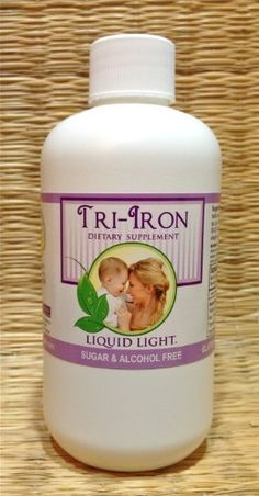 Tri Iron (8 oz Bottle) - High in Iron Herbs. Iron Supplement Safe for Pregnancy, Kid Safe Iron Too. *** Find out more at the image link.