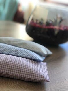 Gingham lavender eye pillow meditation - yoga Lavender Pillow, Lavender Seeds, Gingham, Meditation, Yoga, Eye, Pillows, Trending Outfits, Cushions