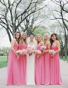 38 - Vestido de Madrinha - rosa