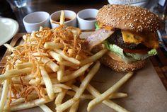 Pearson Cheeseburger at The Pearson Room - Canary Wharf, London