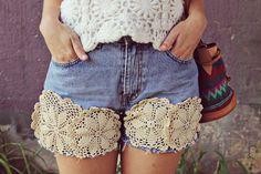 Customiza tus shorts!!!