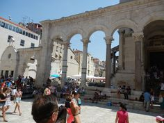 Split Croatia, Croatia Travel, Buildings, Around The Worlds, Street View, Country, Places, Croatia, Rural Area