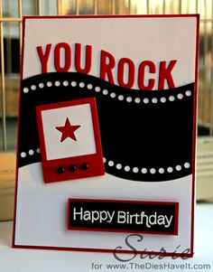 You Rock by scmoore48 - Cards and Paper Crafts at Splitcoaststampers