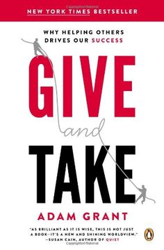Give and Take: Why Helping Others Drives Our Success by Adam M. Grant http://www.amazon.com/dp/0143124986/ref=cm_sw_r_pi_dp_Y7yGvb0SFTK2R