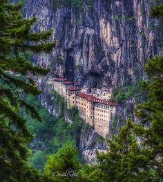 Sümela Manastırı - Trabzon   Fotoğrafı gönderen: Cemil Şahin @cemilsahin_