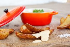 Bannisters' Farm Crispy Potato Dippers with Cheddar Cheese Fondue