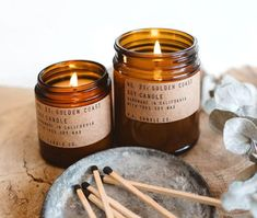 Home Care Medical is pleased to now carry P.F. Candle Co. Soy Candles in five amazing fragrances - Black Fig, Golden Coast, Neroli & Eucalyptus, Nightshade and Pinon.