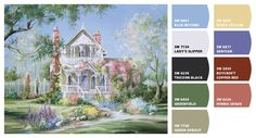 Paint colors from Chip It! by Sherwin-Williams  paulcdennisart...