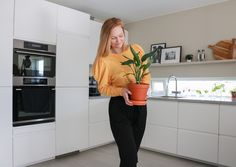 Spisebord - DIY   HVITELINJER Diy And Crafts, Kitchen Cabinets, Interior, House, Home Decor, Asylum, Decoration Home, Indoor, Home