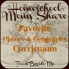 Favorite Homeschool History & Geography Curriculum