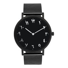 Find More Women's Watches Information about Full Black Silver Markers Mesh Steel Watches, Arabic Numeral Watches,High Quality watch watch,China markers marker Suppliers, Cheap watches watch watch from Perfect time. Perfect life on Aliexpress.com