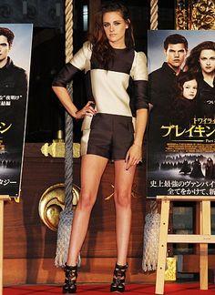 """24. Oktober 2012: Kristen Stewart ist während ihrer Promotiontour für den letzten Teil der """"Twilight""""-Saga in Tokio unterwegs."""
