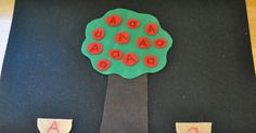 I love felt. Can you tell?  Last week we focused on the letter Aa and watched letter A on Starfall (several times). At the end of the letter...