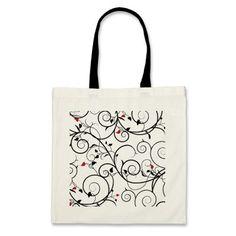 simple design tote bag