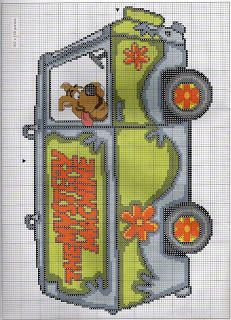 Cross Stitch Scooby Dooooooo
