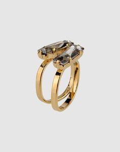 Sabrina Dehoff Swarovski crystal stacking rings