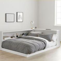 Teen Bedding, Furniture & Decor for Teen Bedrooms & Dorm Rooms Plataform Bed, Cama Design, Teen Boy Bedding, Bed In Corner, Cozy Corner, Dream Rooms, Home Decor Bedroom, Bedroom Furniture, Bedroom Ideas