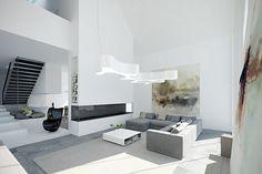 Garby House, casa minimalistas en Polonia de Neostudio Architekci