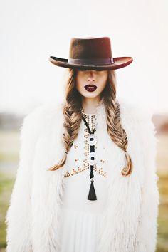 HEYOKA Winter Editorial Starring Paige Rivas/IMG Photography by Briana Purser Styled by Shari Gerstenberger MUA Ashley Hancock Hair Jasmine...