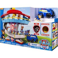 Nickelodeon Paw Patrol - Look-Out Playset, Vehicle and Figure for Chrystian