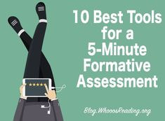 10 Best Tools for a 5-Minute Formative Assessment - Formative assessment is usually quick and does not have to be done with paper and pencil. There are many tech tools that can assist with this type of assessment that teachers can use for an immediate gauge of student learning—and I'm sharing those tools with you today.