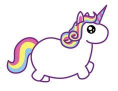 cute fat unicorn - Google zoeken