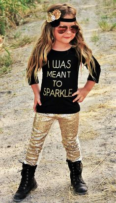 """""""I Was Meant To Sparkle"""" Boutique Outfit 