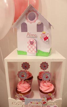 Peppa Pig Cupcakes  Violeta Glace