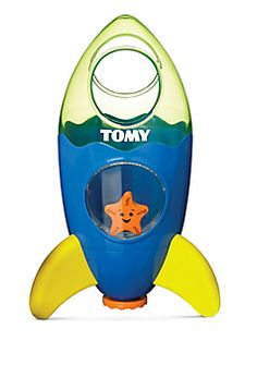 The Fountain Rocket creates an out-of-this-world bath time experience! Submerge...