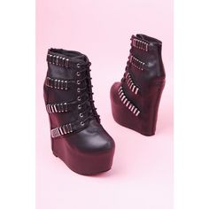 Jeffrey Campbell Thunder ($165) ❤ liked on Polyvore