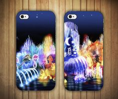 Disney World of Color Art Design iPhone 4/4s or 5 by LifeBoxCases, $22.99