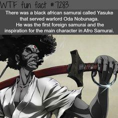 The first non Japanese samurai - WTF fun fact