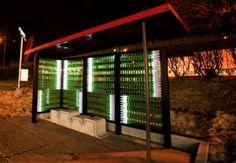 bottlestop Bottlestop: Worlds Most Eco Friendly Bus Stop Designed By Aaron Scales