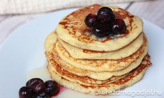 Paleo, Pancakes, Breakfast, Food, Morning Coffee, Essen, Beach Wrap, Pancake, Meals