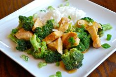 Easy Orange Chicken- replace with Tofu