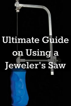 You'll love these 10 tips on using a jeweler's saw, plus how to install saw blades! #jewelrymaking #metalsmithing #diyjewelry